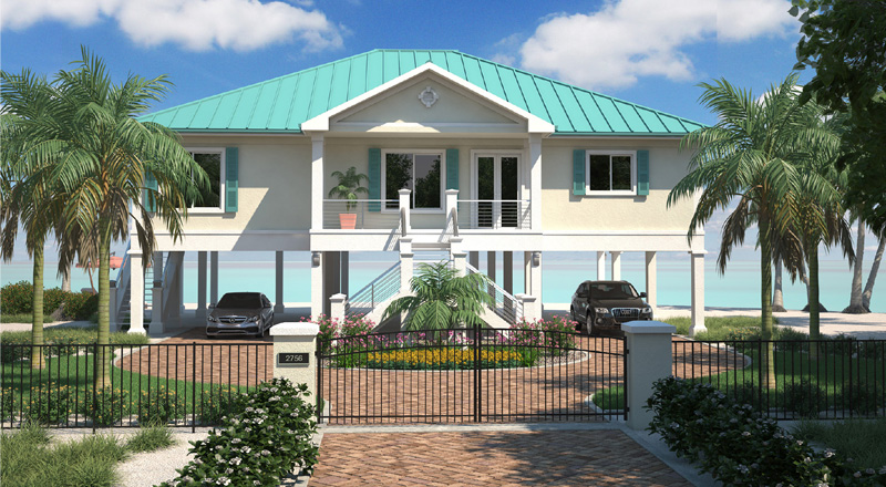 Stupendous Beach House Plans 7 Custom Beachcat Home Plans Interior Design Ideas Gentotryabchikinfo